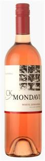 CK Mondavi White Zinfandel Willow Springs 750ml - Case of 12
